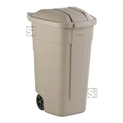 Rollcontainer -Separation- Rubbermaid 100 Liter, mobil